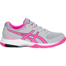 Asics Gel Rocket 8 Women's Shoes Mid Grey Pink Glo