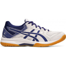 Asics Gel Rocket 9 Women's Shoes White Dive Blue