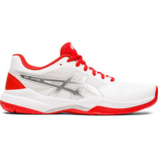 Asics Gel Game 7 Women's Tennis Shoes White Fiery Red