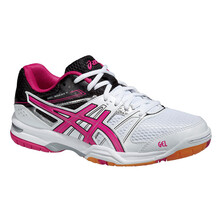 Asics Gel Rocket 7 Women's Shoes White/Magenta/Black