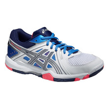 Asics Gel Task Women's Shoes White/Powder Blue/Flash Coral