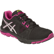 Asics Gel-Craze TR 3 Women's Fitness and Training Shoe Black Silver Berry