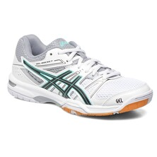 Asics Gel Rocket 7 Women's Shoes White Black Cockatoo