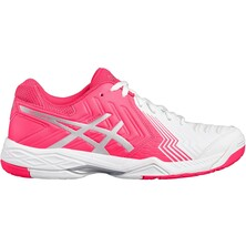 Asics Gel Game 6 Women's Tennis Shoes White Diva Pink