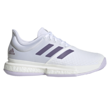 Adidas SoleCourt Boost Women's Tennis Shoes White Purple