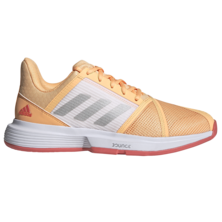 Adidas CourtJam Bounce Women's Tennis Shoes Orange 2021