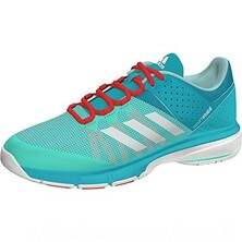 Adidas Court Stabil Women's Indoor Shoes Aqua White