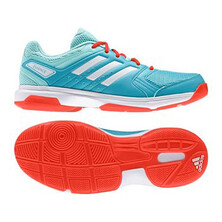 Adidas Essence Women's Indoor Shoe Aqua White