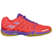 Babolat Shadow Team Women's Indoor Shoes Pink Purple