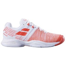 Babolat Propulse Blast All Court Women's Tennis Shoe White Fluo