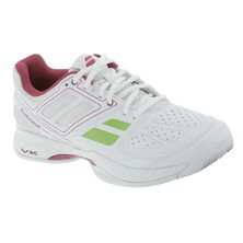 Babolat Pulsion BPM Women's Tennis Shoes - White Pink