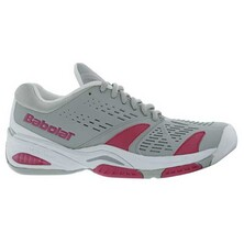 Babolat Womens SFX Tennis Shoes Grey Pink
