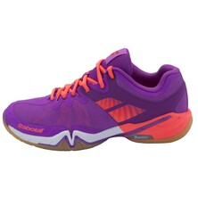 Babolat Shadow Tour Women's Indoor Shoes Purple White
