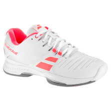 Babolat SFX Team All Court Women's Tennis Shoes White Pink