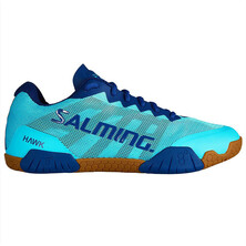 Salming Hawk Womens Indoor Shoes Mint Limoges Blue