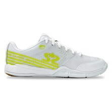 Salming Viper 5 Women's Indoor Shoes White Fluo Green 2020
