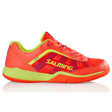 Salming Adder Women Indoor Court Shoes - Diva Pink Safety Yellow