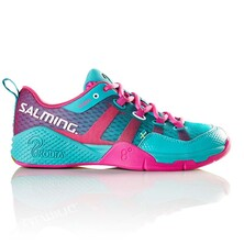 Salming Kobra Women's Indoor Shoes Turquoise Pink