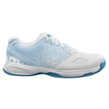 Wilson Womens Kaos Devo Carpet Tennis Shoes White Niagara