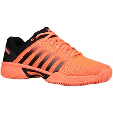K-Swiss Mens Express Light HB Tennis Shoes - Neon Blaze/Black