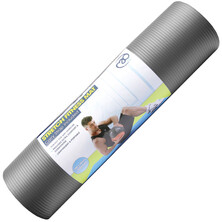 Fitness Mad Stretch Fitness Mat 10mm Grey