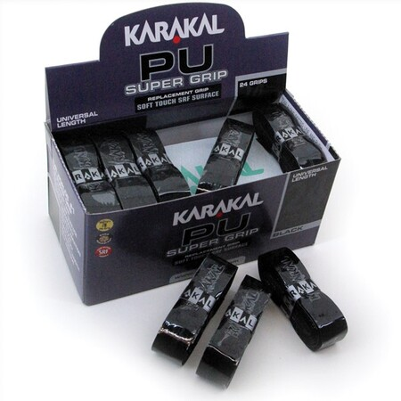 Karakal PU Super Grip Black - Box of 24 Grips