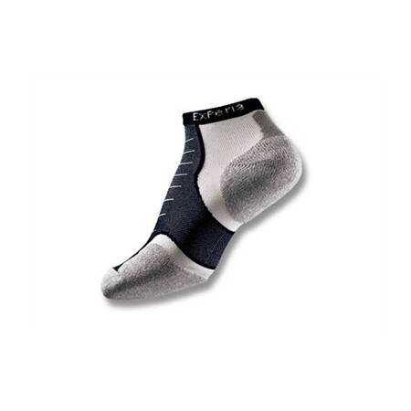 5771a5e403a Thorlo Experia CoolMax Micro Mini Socks - Black ASTH2494