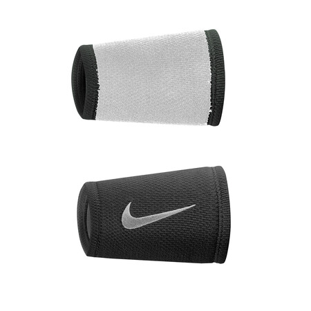 Nike Dri Fit Stealth Doublewide Wristbands Black