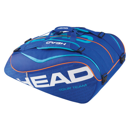 Head Tour Team 12 Racket Monstercombi Blue Blue