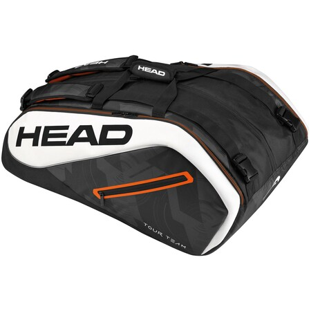 Head Tour Team 12 Racket Monstercombi Black White