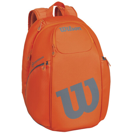 Wilson Vancouver Backpack Bag Orange Grey