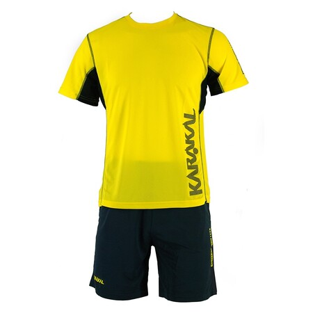 Karakal Men's Pro Tour Shirt Yellow