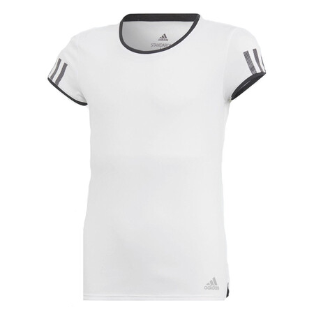 Adidas Girls' Club Tee White