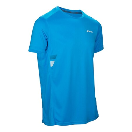 Babolat Core Flag Club Tee Men Drive Blue