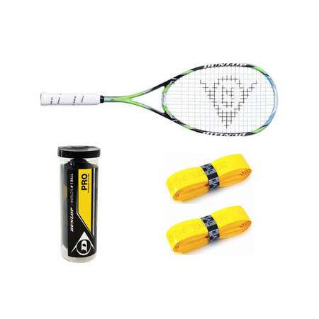 Dunlop 4d Elite Ball & Grip Bundle