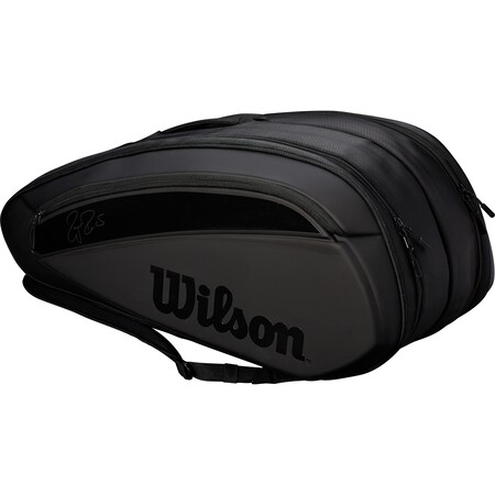 Wilson Federer DNA 12 Pack Bag 2018 - Black