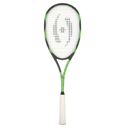 Harrow Vibe Squash Racket Black Lime