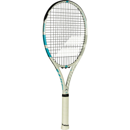 Babolat Drive G Lite Tennis Racket White Blue