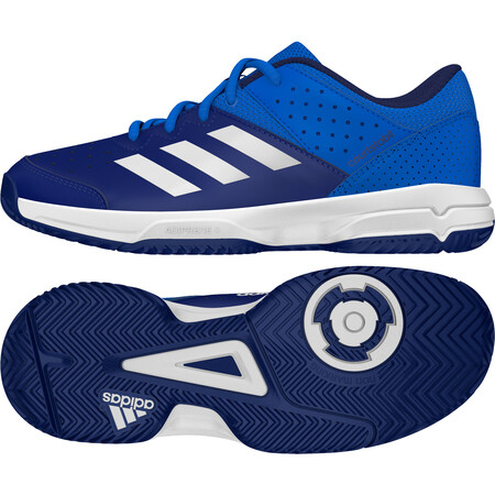 Adidas Court Stabil Junior Shoes - Blue White Ink