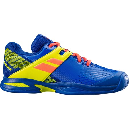 Babolat Propulse Junior Tennis Shoe Blue Fluo Aero 2019