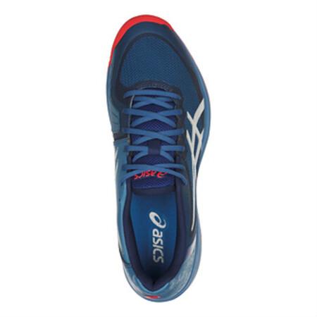 low priced 6f783 81ee5 ... Asics Gel Court Speed Mens Tennis Shoe Azure Blue Print ...