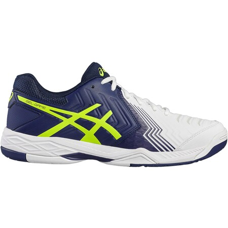 Asics Gel Game 6 Men's Tennis Shoes White Indigo Blue