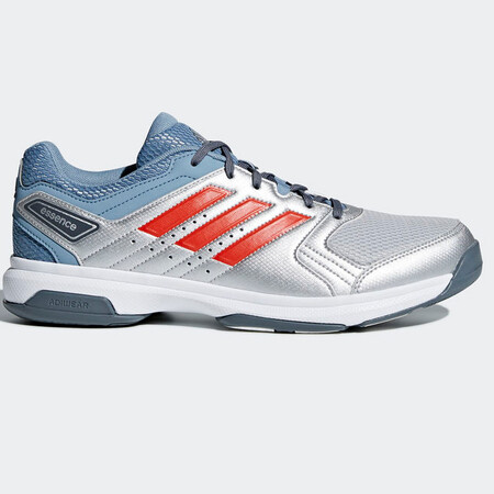 Adidas Essence Indoor Men's Shoes Silver Red