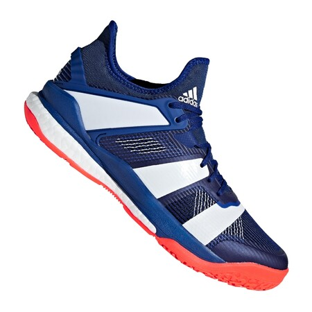 36a2e5d6f8 Adidas Stabil X Blue Men's Indoor Shoes | Great Discounts - PDHSports