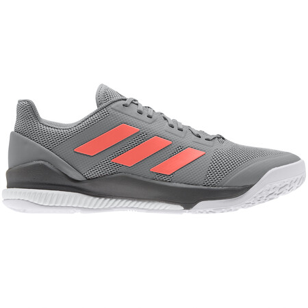 Adidas Stabil Bounce Men's Indoor Shoes Grey Coral