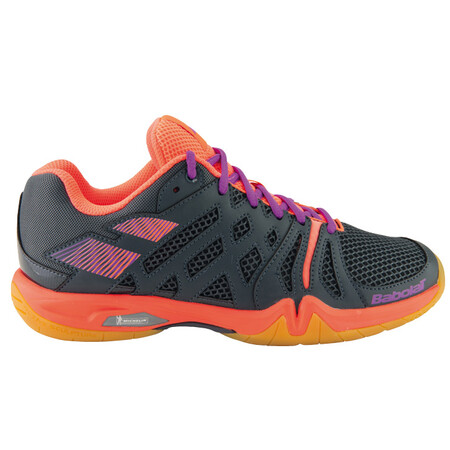 babolat shadow team s indoor shoes black pink