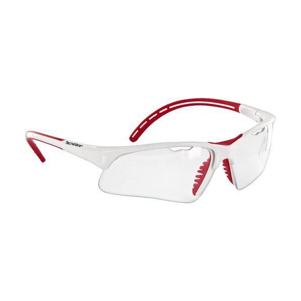 Tecnifibre Eye Protection Glasses White Red