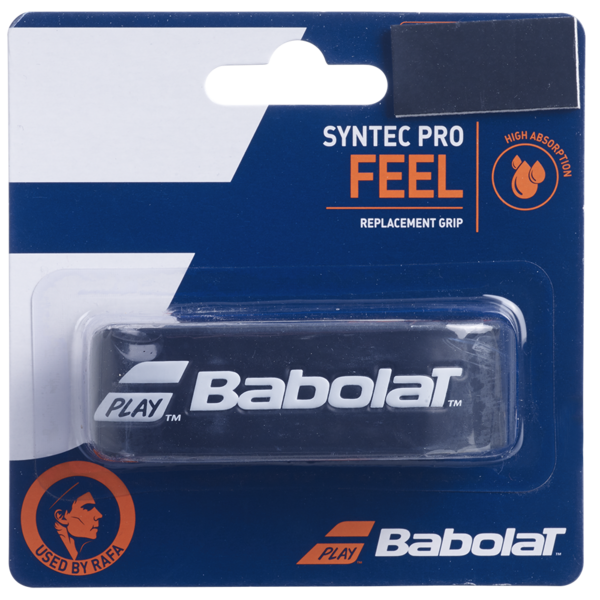 Babolat Syntec Pro Feel Replacement Grip - Black White