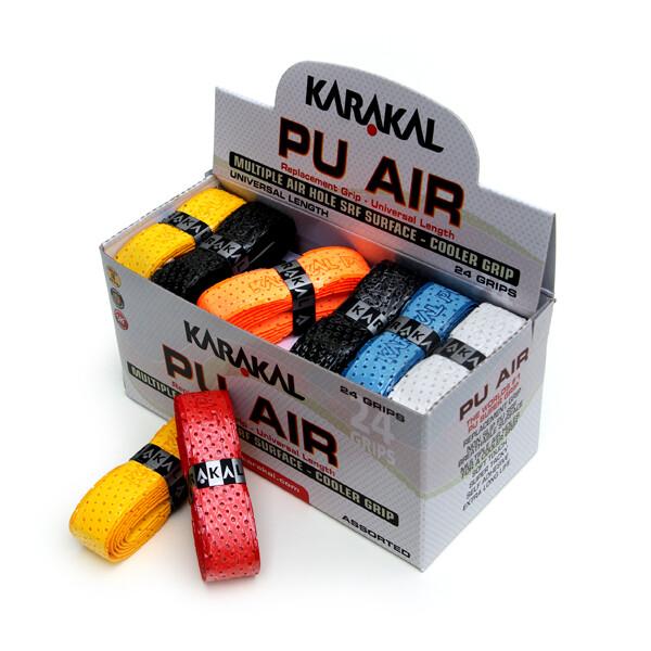 Karakal PU Replacement Grips Tennis Squash Badminton Box of 24 Grips