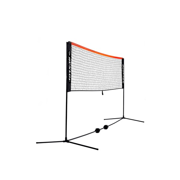Dunlop Mini Tennis And Badminton Net - 6 Metres